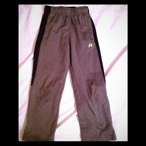 Russell Athletic Bottoms - Boys size 8 lined sweatpants